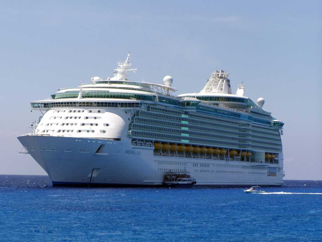"Fartyget ""Freedom of the seas""."