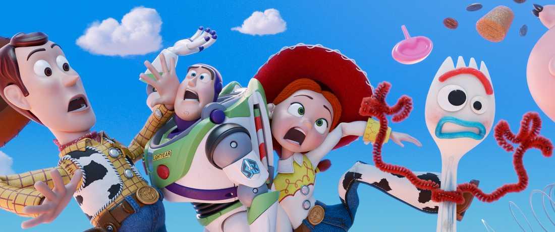 Den 30 augusti har Toy story 4 Sverigepremiär.