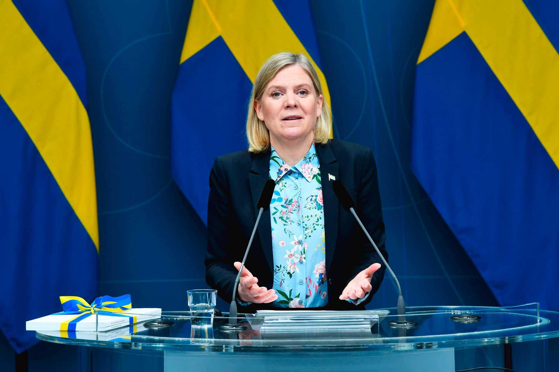 """""""Skatten verkar ha haft stor effekt och det framstår som att många har hittat alternativ till plastpåsar."""", kommenterar Magdalena Anderssons pressekreterare."""