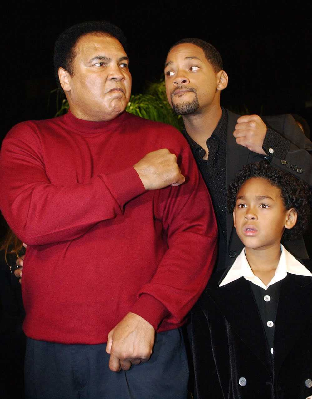 """LIKA SOM BÄR 2001 hade filmen """"Ali"""" premiär. Rollen som boxningslegendaren spelade av Will Smith, till höger."""