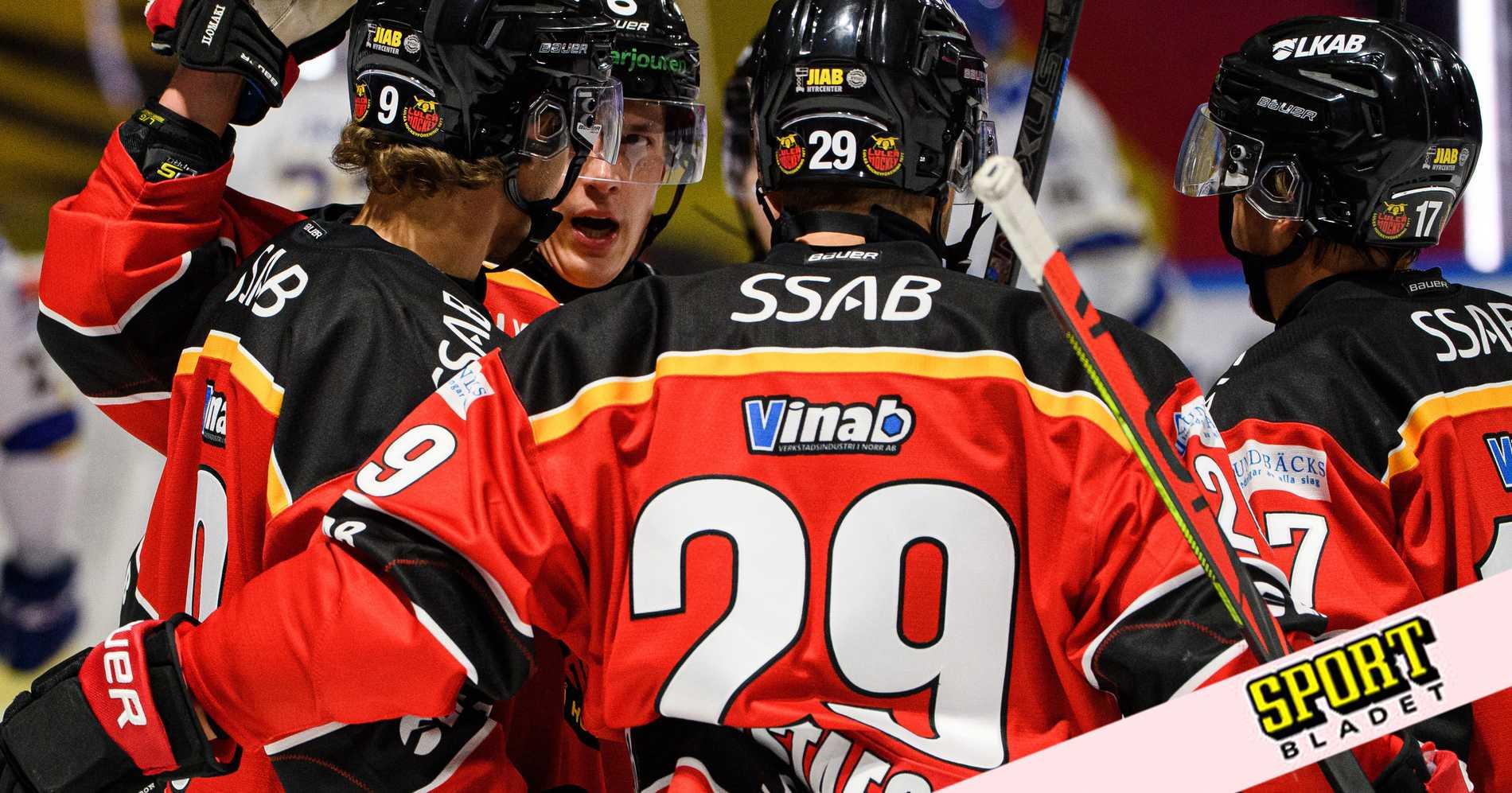 Rögles match mot Luleå skjuts upp