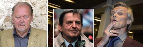 Ingemar Krusell (t.v.) är starkt kritisk till justitierådet Göran Lambertz kommentarer kring Palmeutredningen.