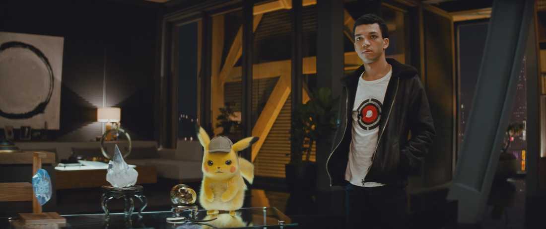 Pikachu och Tim löser fall.