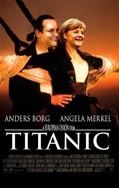 Stävar stolt vidare EU är på väg åt samma håll som skeppet i filmen om Titanic – in i isberget.