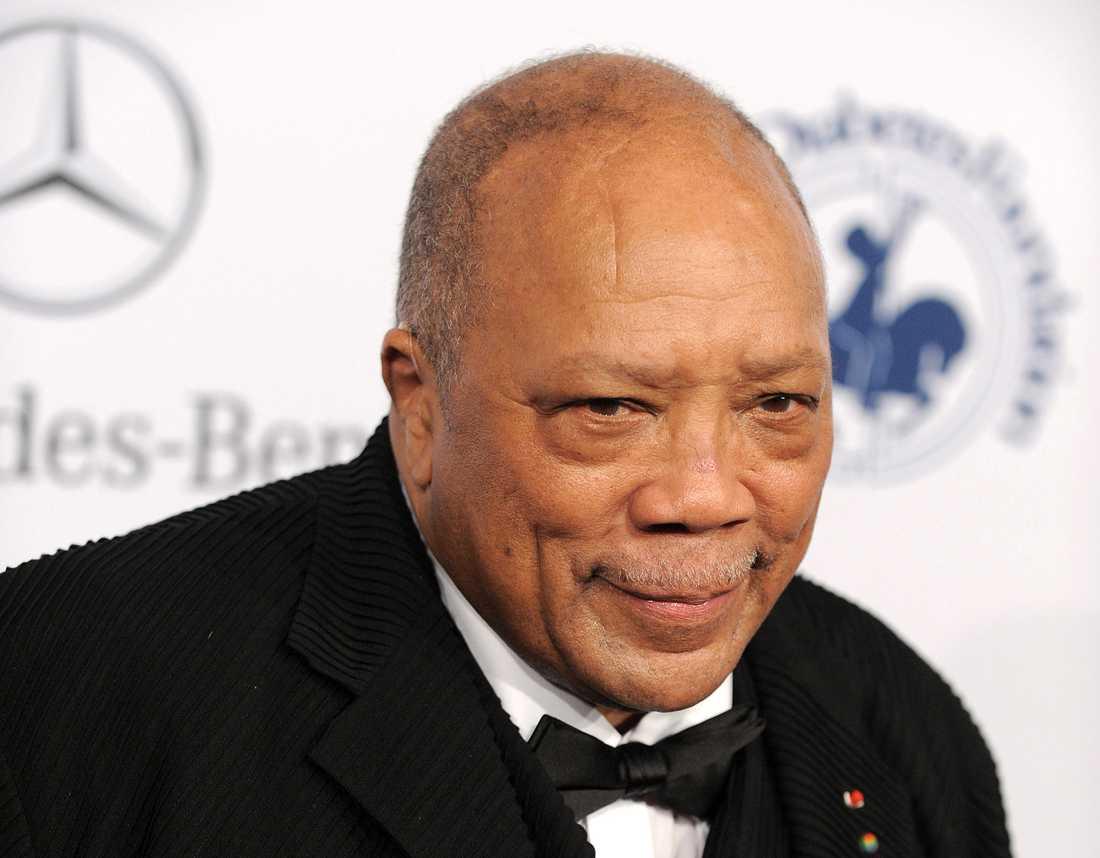 Quincy Jones har vunnit en heders-Oscar och har varit nominerad till sju statyetter som kompositör och filmproducent – och sitter med i akademins styrelse.