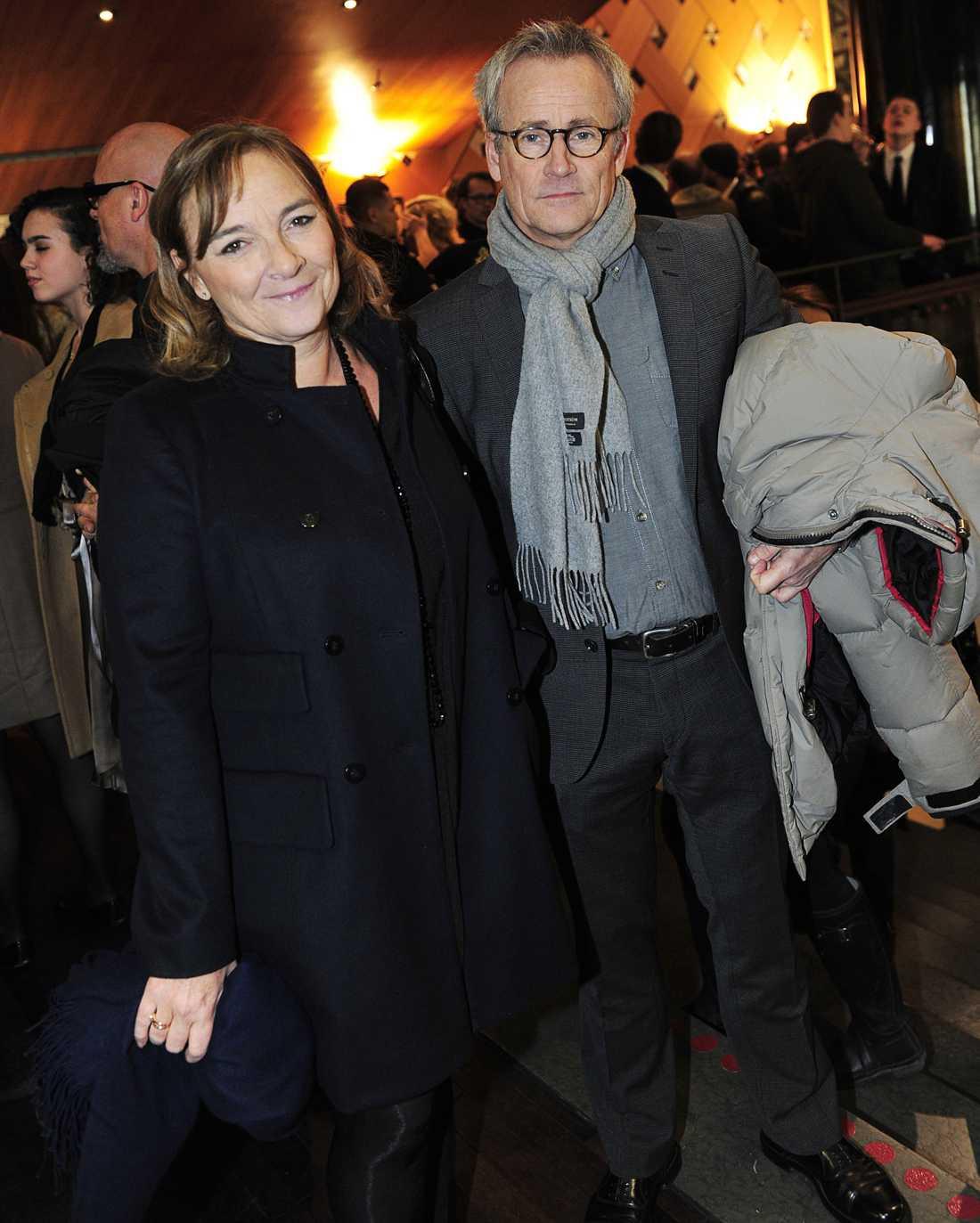 Hélène Benno och C-G Karlsson.