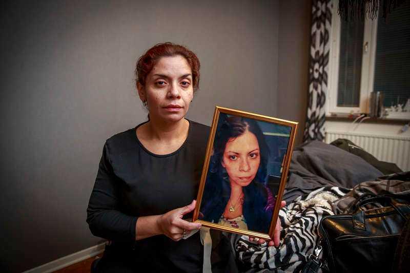 – Hon sa att han var hennes liv, säger Claudias syster Patricia Quiros.