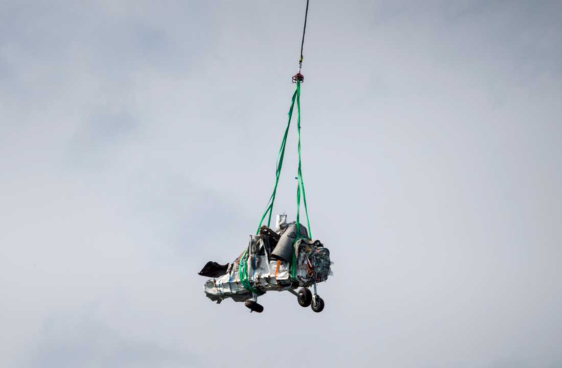 Bärgningen av flygplanet avslutades på onsdagen.