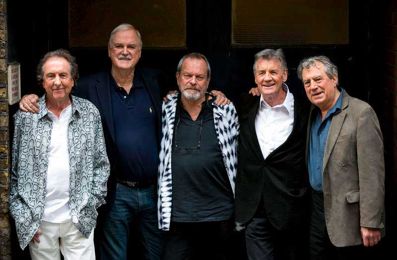 Eric Idle, John Cleese, Terry Gilliam, Michael Palin & Terry Jones.