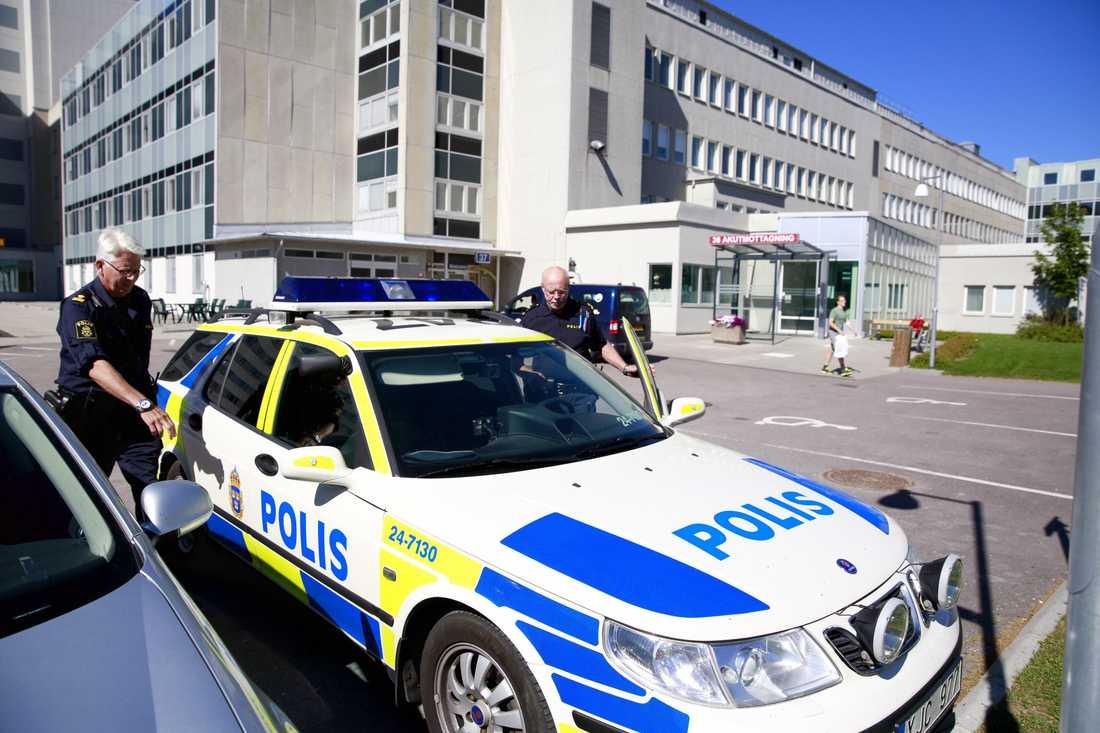 Sjukhuset i Västerås där 36-åringen som erkänt morden på Ikea vårdas.