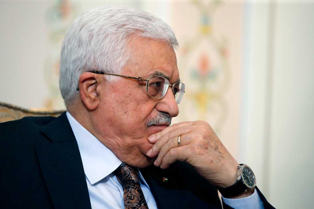 Palestiniernas president Mahmud Abbas. Arkivbild.
