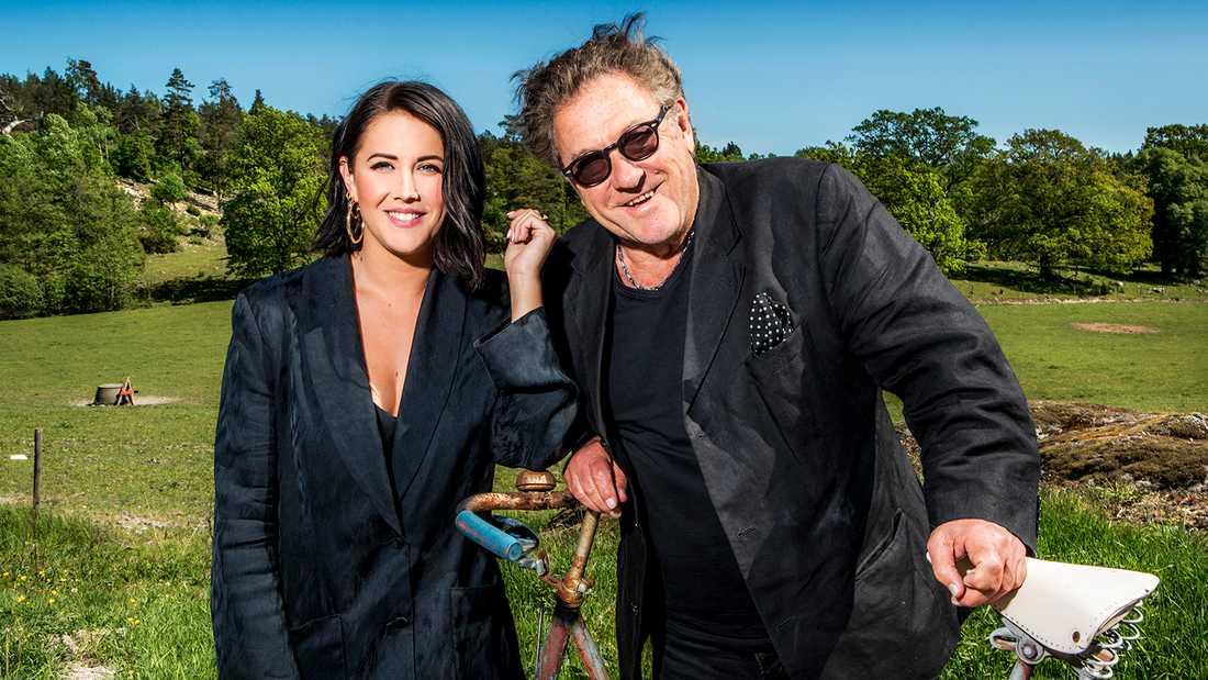 """Molly Sandén och Tommy Körberg i """"Helt lyriskt""""."""