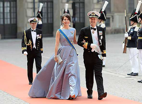 Kronprins Frederik och kronprinsessan Mary.