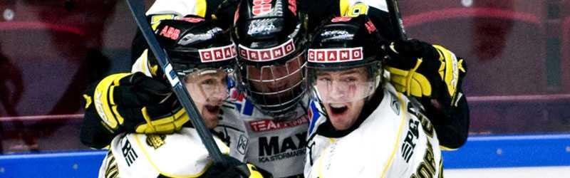 Jubel Västerås är klart för kvalserien efter 3–1 mot Bofors.