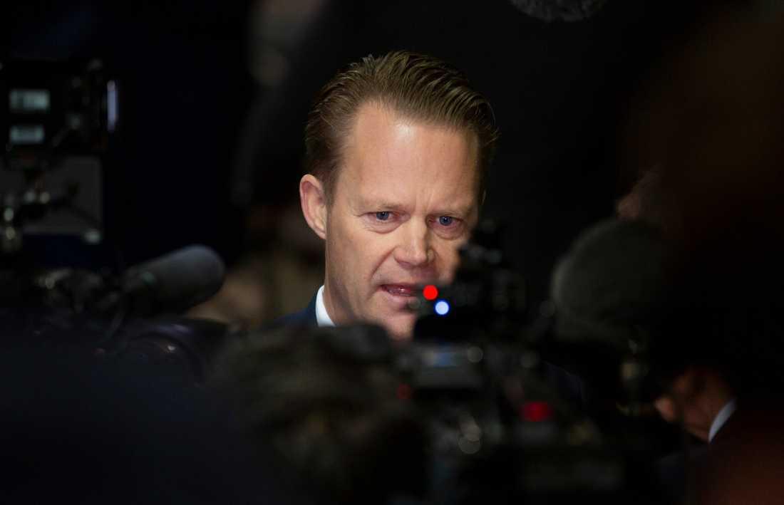 Danmarks utrikesminister Jeppe Kofod. Arkivbild.