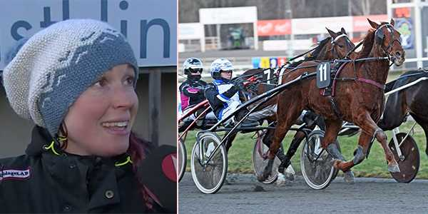 I.T.Inventor vann V75–2 på Axevalla under lördagen till tränaren Johanna K Karlssons lycka.