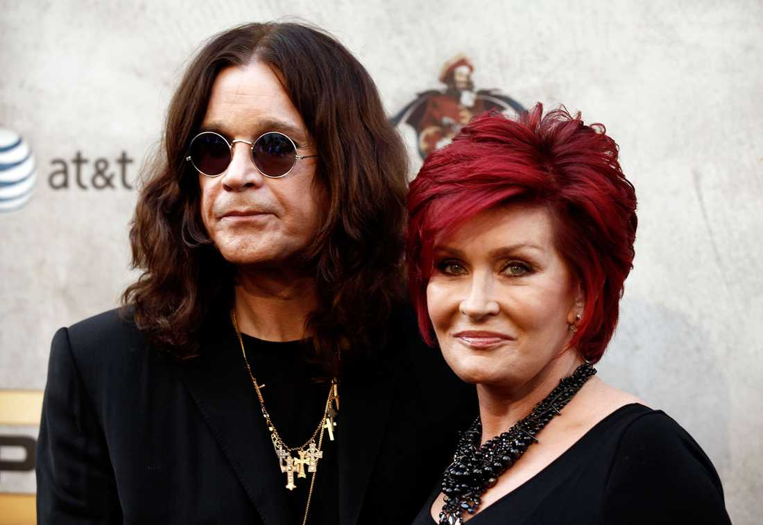 Ozzy Osbourne och Sharon Osbourne.