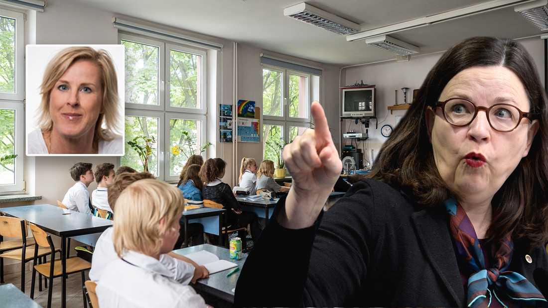 Att tumma på undervisningens kvalitet och samtidigt hoppas på en fortsatt positiv utveckling av kunskapsresultaten, är helt enkelt en olöslig ekvation, skriver Åsa Fahlén, ordförande Lärarnas Riksförbund.