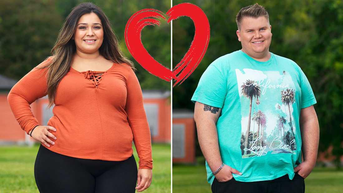 """Efter """"Biggest loser"""" 2017 blev Lisen och Pontus ett par."""
