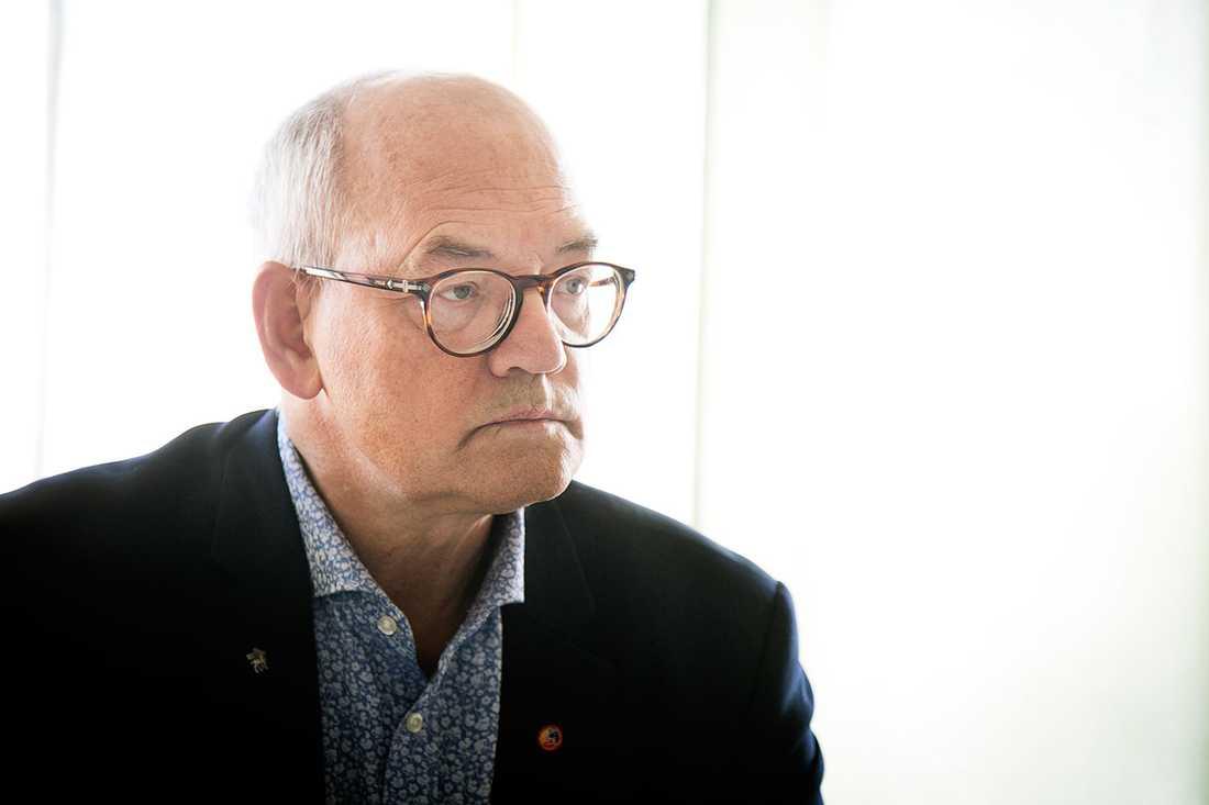 Björn Jansson, ordförande regionsstyrelsen på Gotland.