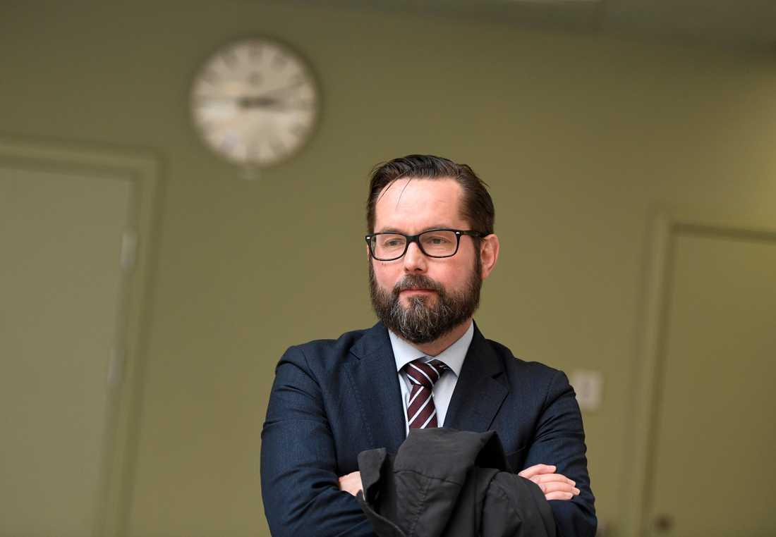 Per Lindqvist, chefsåklagare vid riksenheten för säkerhetsmål, har lett förundersökningen mot de sex männen. Arkivbild.