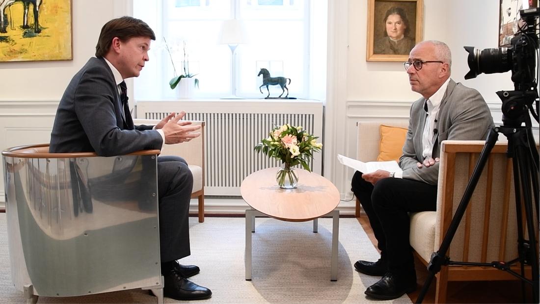 """Talman Andreas Norlén tycker att det är bekymmersamt att så många ledamöter utreds av åklagare efter Aftonbladets stora granskning """"Maktens kvitton""""."""