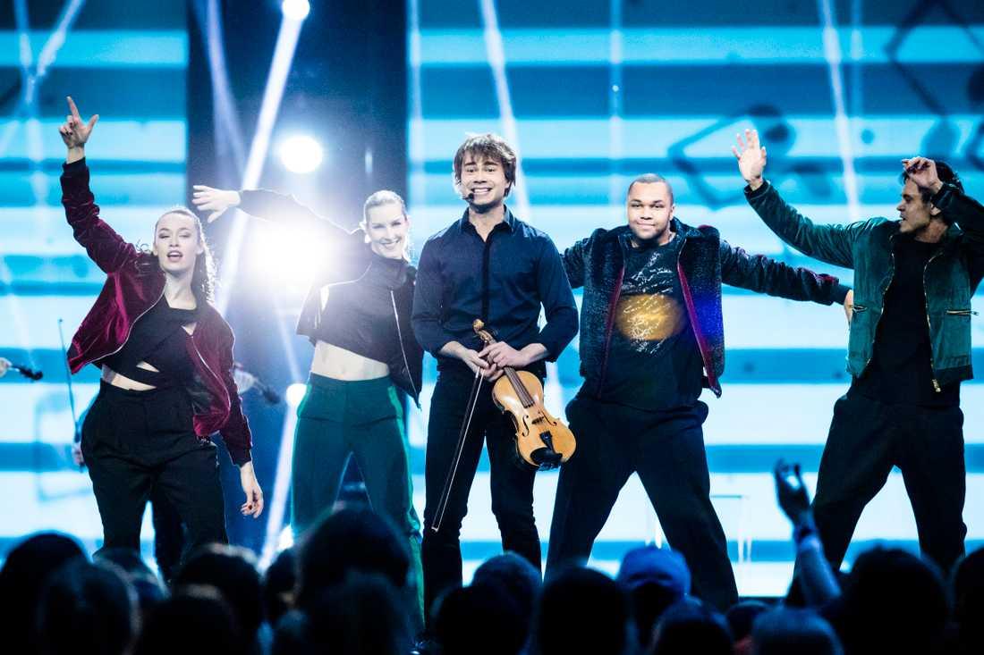 """Alexander Rybak vann med låten """"That's how you write a song""""."""