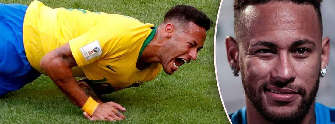 Neymar har uttalat sig om sitt filmande – igen.