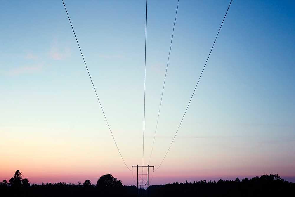 Milt väder gjorde att elpriset sjönk i oktober.