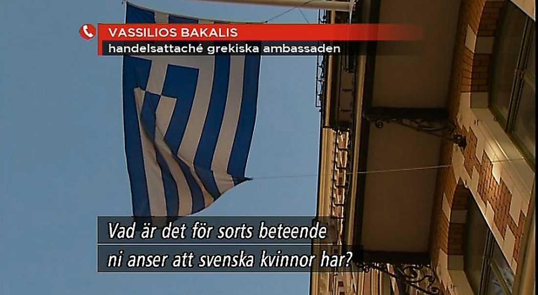 INTERVJUADES Ur TV4:s rapportering om diplomatens mejl.