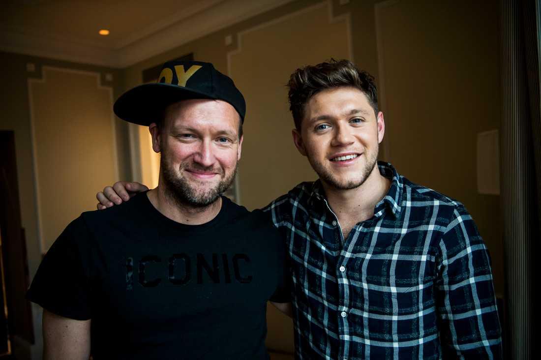 Nöjesbladets Tobbe Ek träffar Niall Horan.