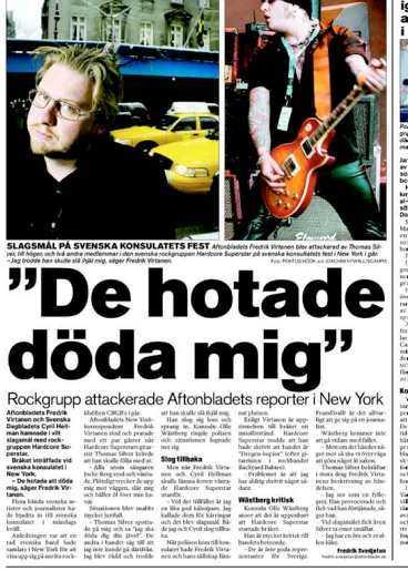 Aftonbladet den 17 mars i år.