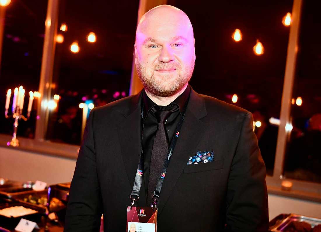 Fredrik Kempe, som skrivit Jon Henrik Fjällgrens låt.