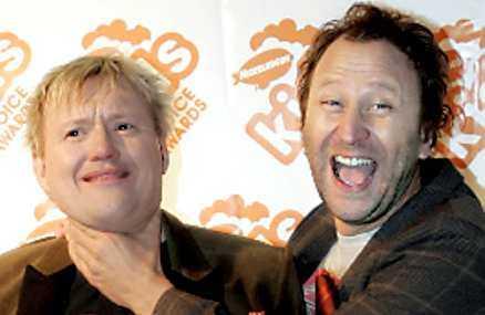 Anders Jacobsson och Sören Olsson, älskade barnboksförfattare.