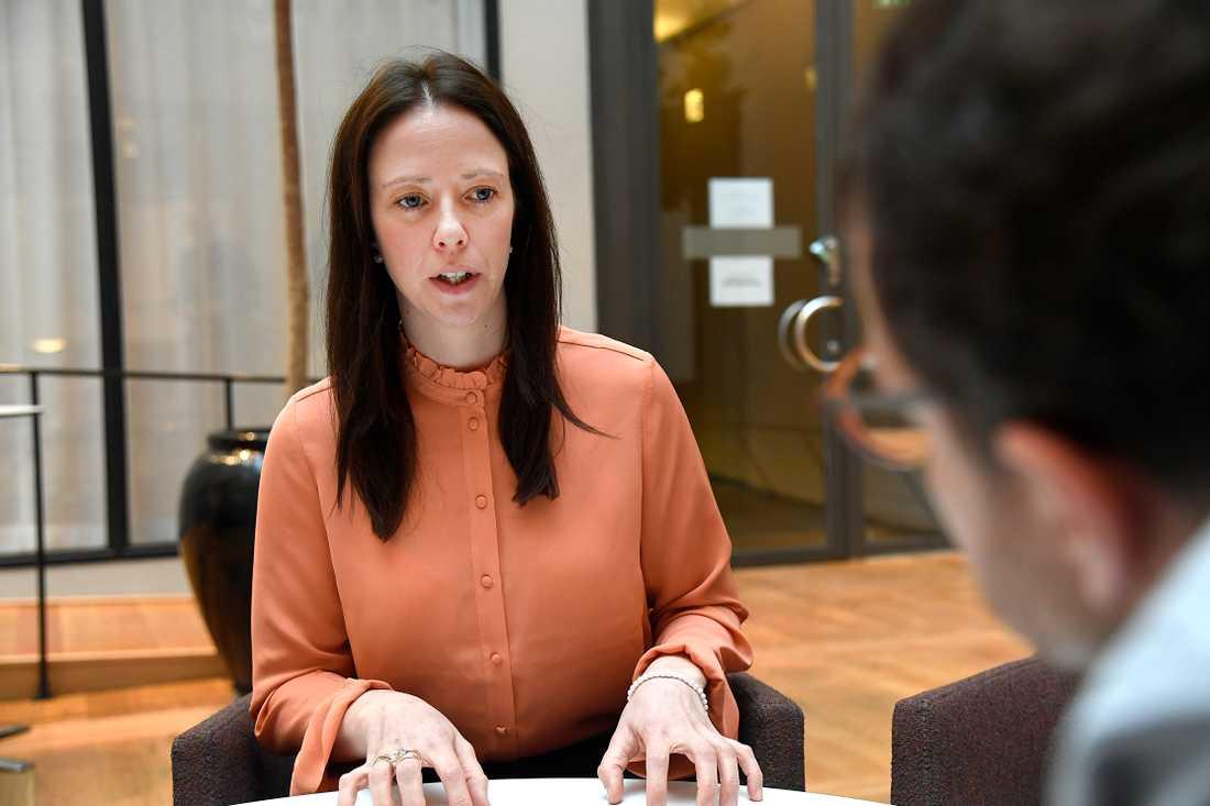 Jämställdhetsminister Åsa Lindhagen.