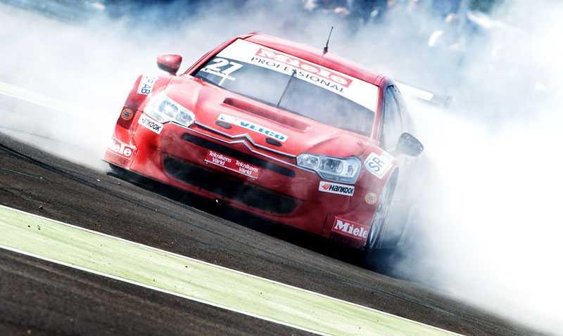 Alx Danielsson körde i TTA-serien i somras.