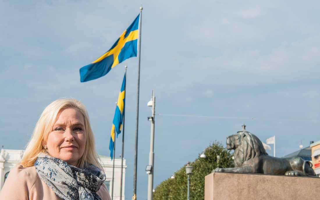Anna Johansson, ordförande för S i Göteborg