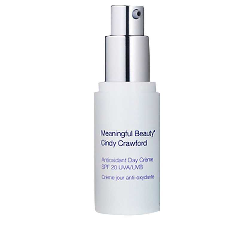 """""""Antioxidant day crème"""" med spf 20, 249 kronor, meaningfulbeauty.se"""