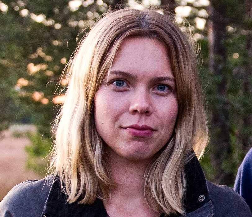 Nina Svanberg jobbade tidigare som reporter på Aftonbladet. Här är en bild från 2012.