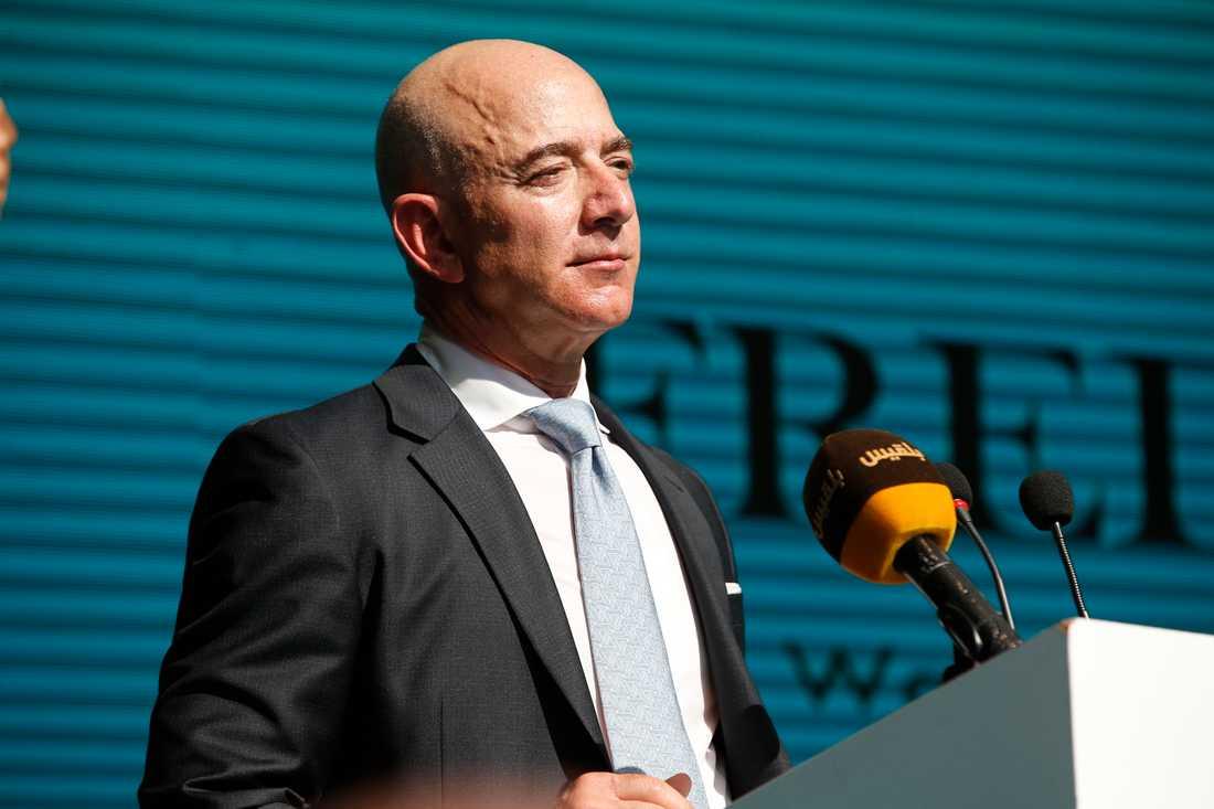 Amazons vd Jeff Bezos. Arkivbild.