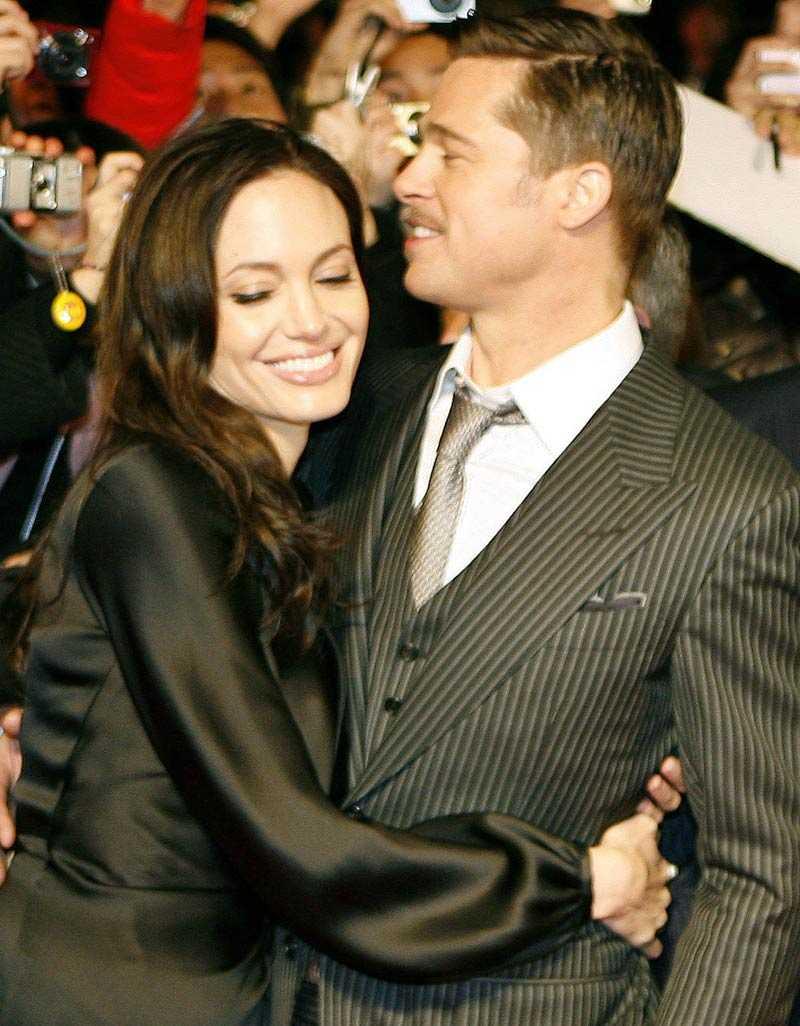 Läsarfavoriter Angelina Jolie och Brad Pitt.