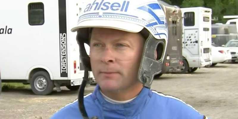 Erik Adielsson i intervjun efter förlusten.