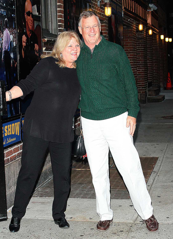 Taylor Swifts föräldrar, Andrea och Scott Swift.