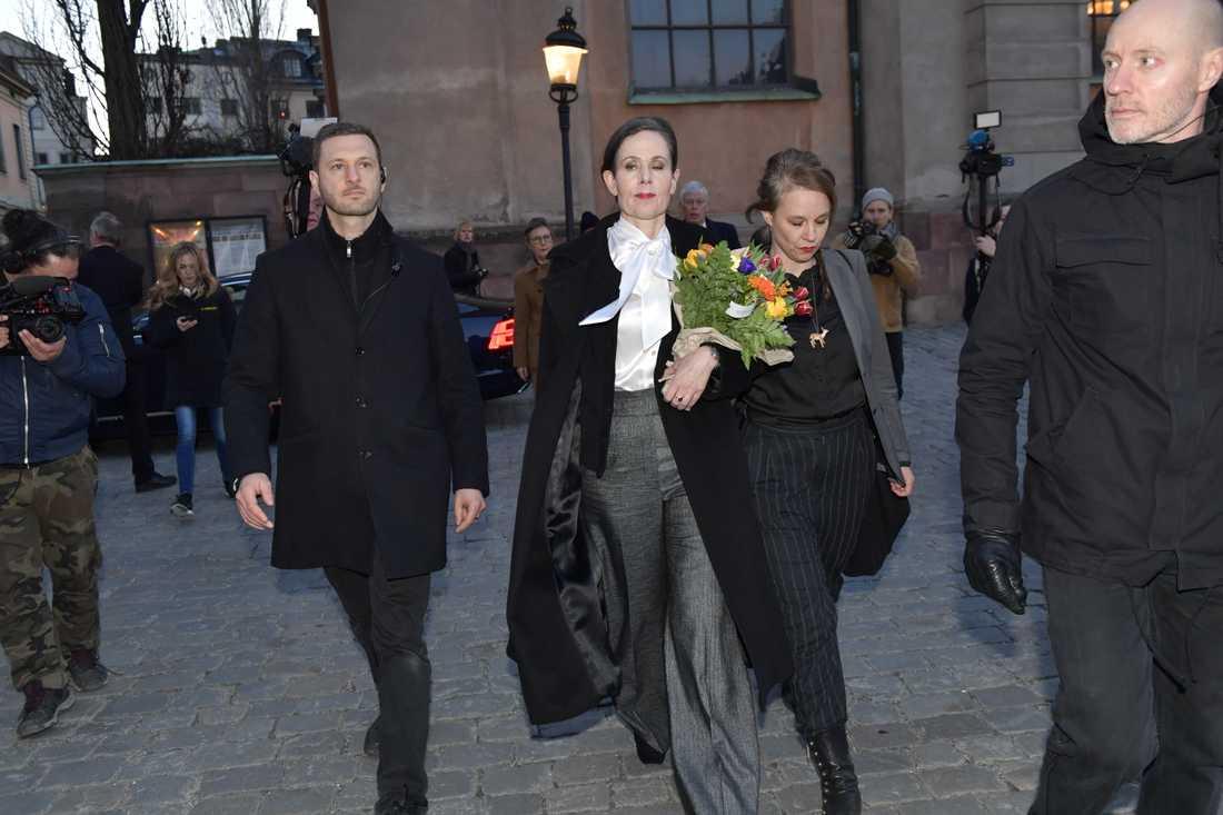 Sara Danius och Sara Stridsberg har nu bägge lämnat Svenska Akademien.