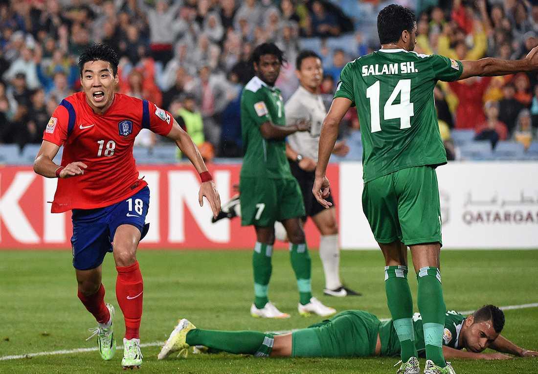 Irak gick till semifinal i asiatiska mästerskapen i fotboll.