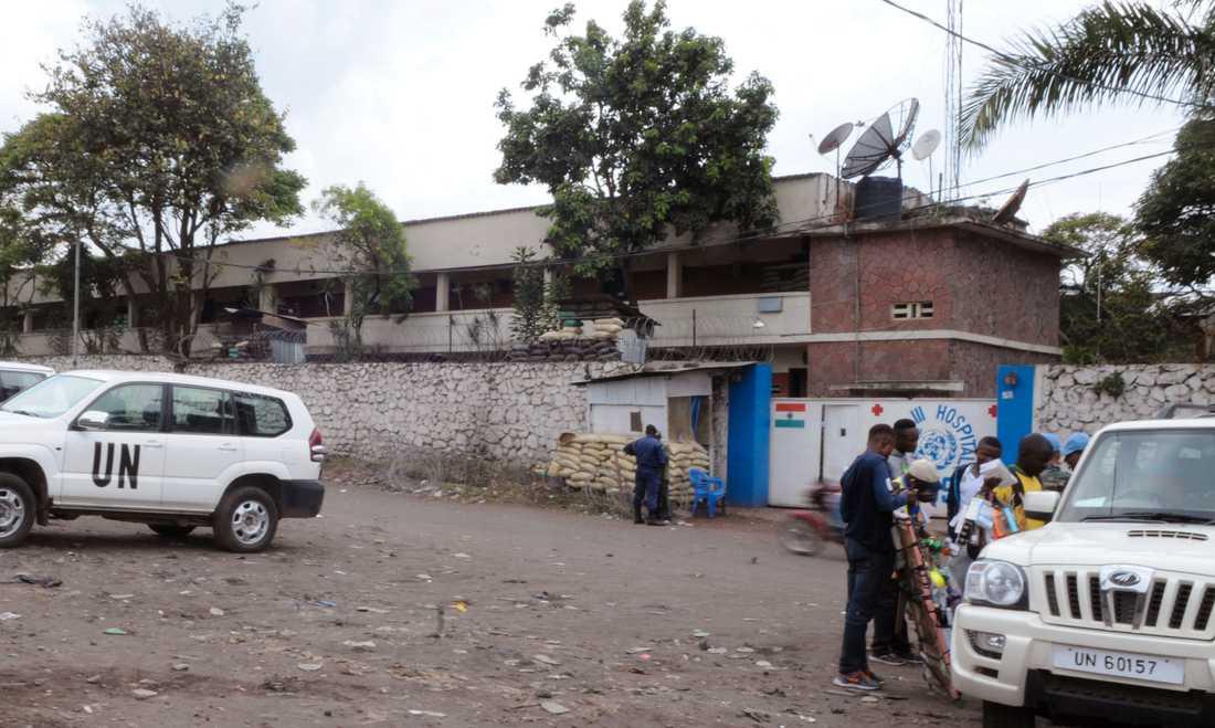 Ett FN-sjukhus i Goma i Nordkivu. Arkivbild.