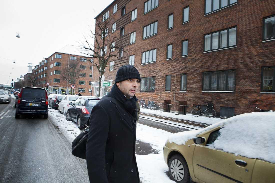 Ägaren Simon Grønborg Knudsen.