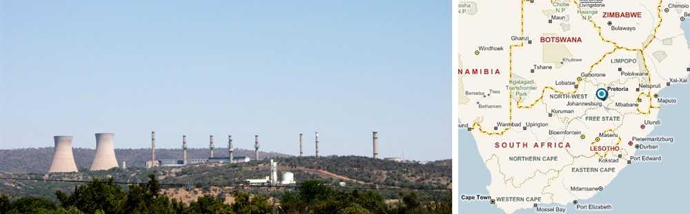 Fyra män bröt sig in Kärnanläggningen Pelindaba där Sydafrika förvarar sitt höganrikade uran.