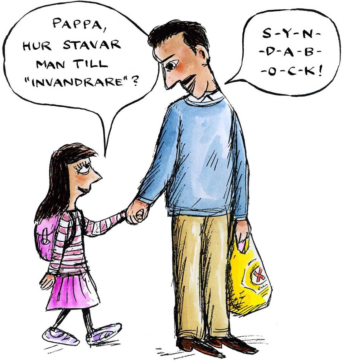 MP sätter HÅRT MOT HÅRT Reinfeldts försök att spela invandringskortet inför valet har skördat sitt första offer.
