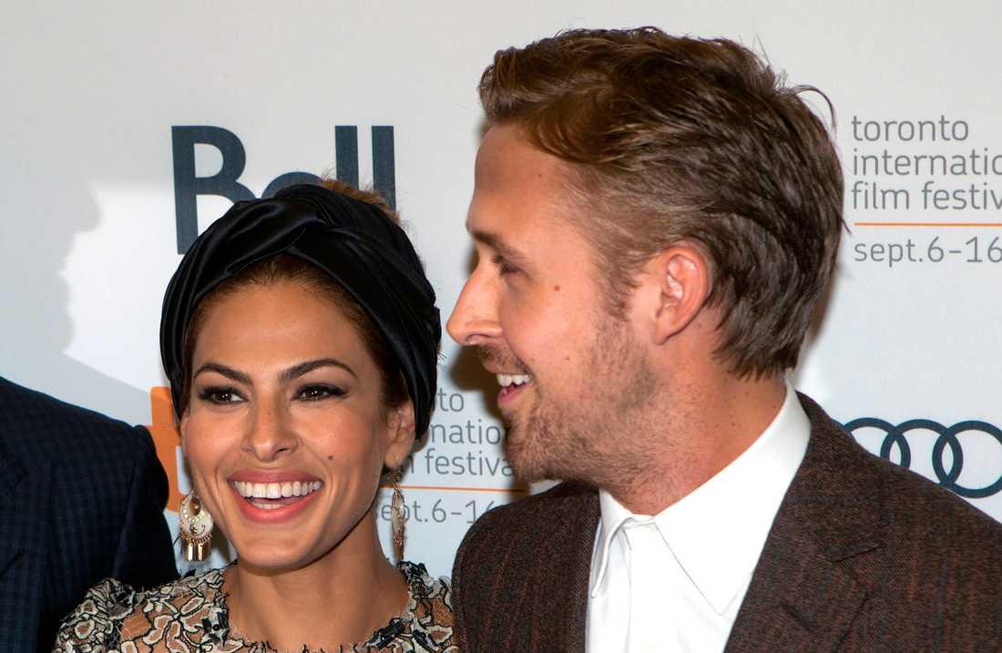 Ryan Gosling och Eva Mendes.